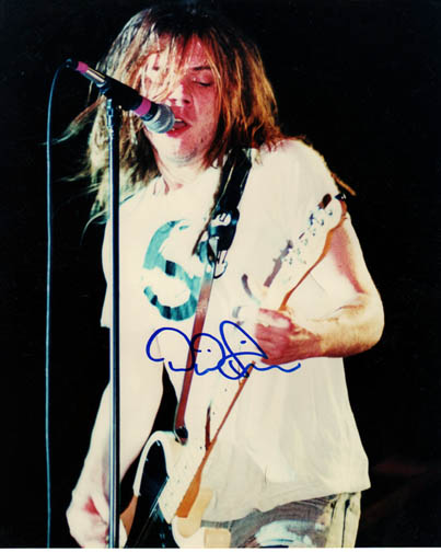 Soul Asylum Autographed Dave Pirner Live Signed Photo PSA/DNA