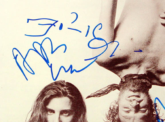 Spin Doctors Autographed Signed 11x14 Photo   AFTAL