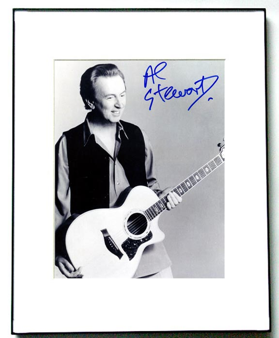 Al Stewart Autographed Signed Guitar Photo PSA/DNA Cert   AFTAL