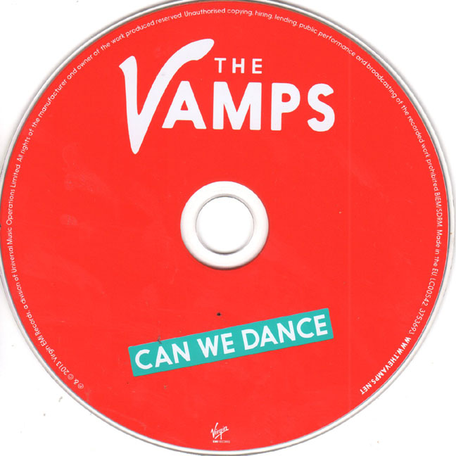The Vamps Un-Signed Can We Dance CD