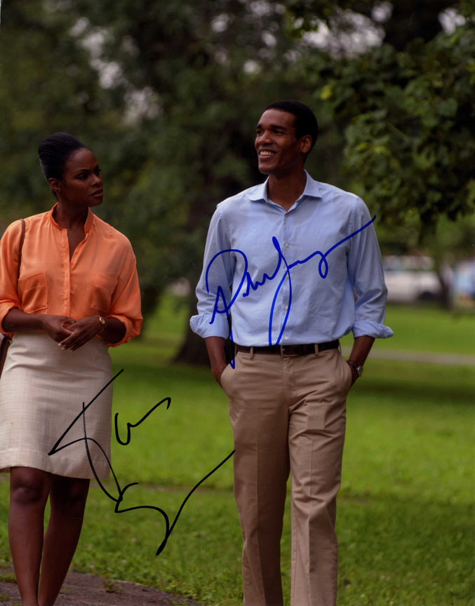 Tika Sumpter & Parker Sawyers Signed 11x14 Southside With You Photo AFTAL UACC R