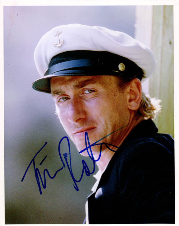 Tim Roth Autographed Signed 8x10 Captain Photo UACC RD COA
