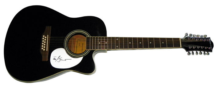 Tony Bennett Autographed Signed 12 String Acous/Electric Guitar
