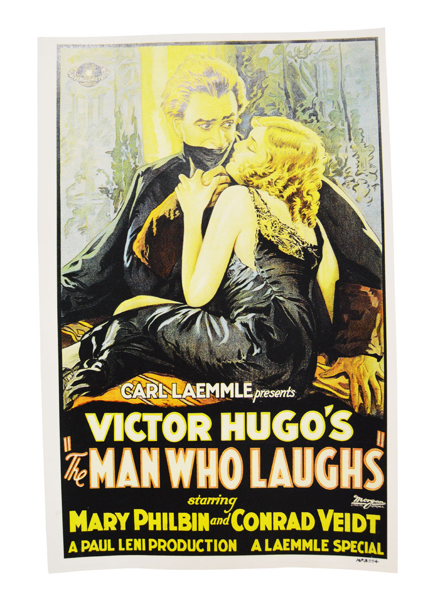 The Man Who Laughs Movie Theatrical Poster 27x40 Victor Hugo 192
