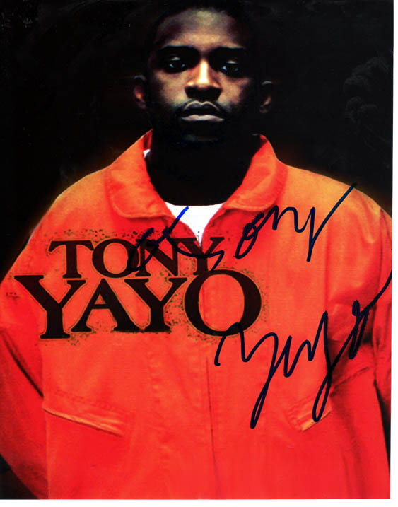 Tony Yayo Autographed Signed Photo G-Unit   AFTAL