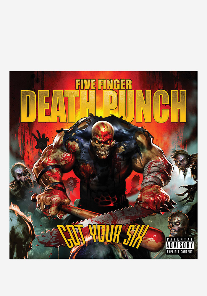 five finger death punch got your six new cd jekyll hyde autograph. Black Bedroom Furniture Sets. Home Design Ideas